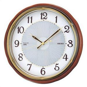 【国産】 【正規品 電波時計】SEIKO セイコー クロック SF221B 掛け時計 クロック 掛け時計 電波時計, 愛知工務店:f14f6d2f --- rki5.xyz