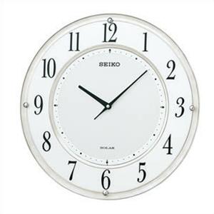 【正規品】SEIKO セイコー クロック SF506W 掛時計 ソーラープラス 電波時計