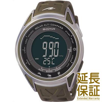 【レビュー記入確認後3年保証】ソーマ 腕時計 SOMA 時計 正規品 NS24701 ユニセックス RideONE ライドワン SOLAR ソーラー ALTI COMPASS アルチコンパス