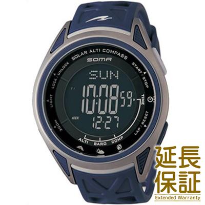 【国内正規品】SOMA ソーマ 腕時計 NS24702 ユニセックス RideONE ライドワン SOLAR ソーラー ALTI COMPASS アルチコンパス GO OUTコラボモデル