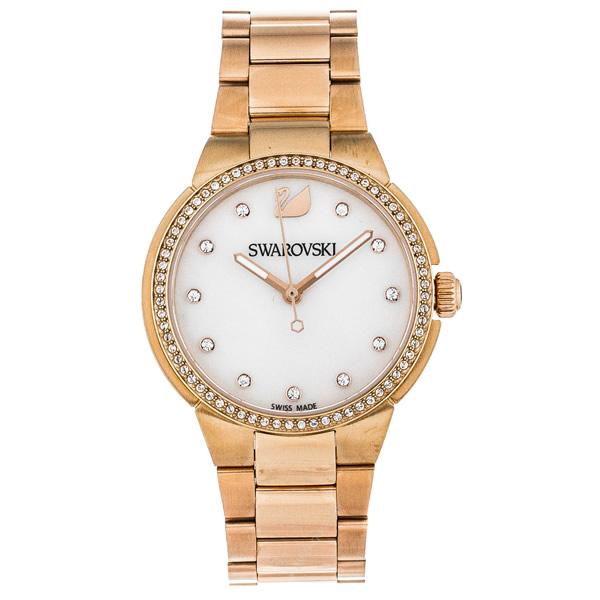 【並行輸入品】SWAROVSKI スワロフスキー 腕時計 5221176 レディース CITY MINI シティ ミニ クオーツ