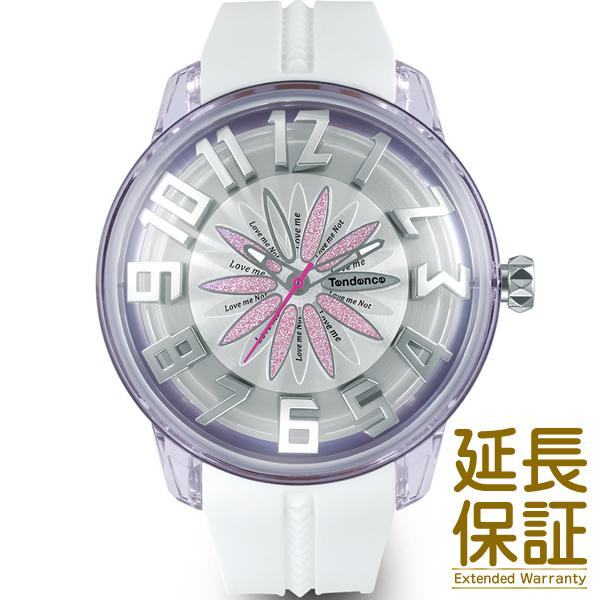 Tendence テンデンス 腕時計 TY023004P メンズ レディース KingDome キングドーム ピンクフラワー クオーツ
