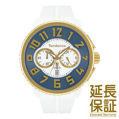 【正規品】テンデンス Tendence 腕時計 TY046016 ユニセックス GULLIVER Round ガリバー ラウンド クロノグラフ