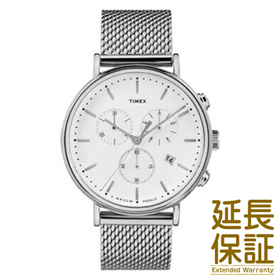 【並行輸入品】タイメックス TIMEX 腕時計 TW2R27100 ユニセックス Weekender ウィークエンダー Fairfield フェアフィールド クロノシルバーメッシュ