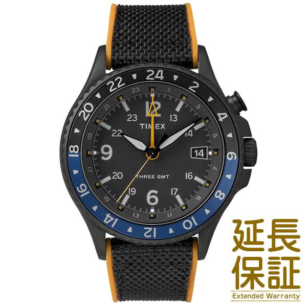 【並行輸入品】TIMEX タイメックス 腕時計 TW2R70600 メンズ ALLIED THREE GMT アライド スリー クオーツ