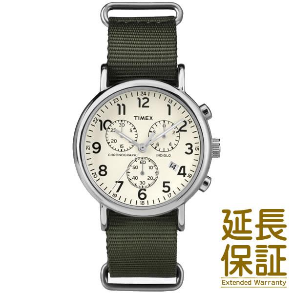 【正規品】タイメックス TIMEX 腕時計 TW2P71400 メンズ WEEKENDER CHRONO ウィークエンダー クロノ クリーム/オリーブ