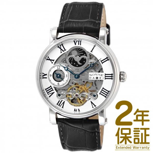 【国内正規品】SONNE ゾンネ 腕時計 H013SV メンズ SONNE×HAORI ゾンネ ハオリ 自動巻き