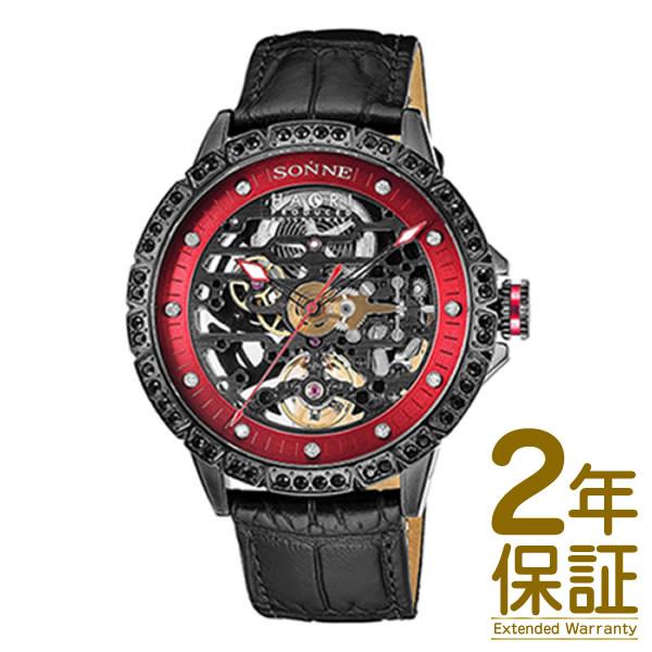 【国内正規品】SONNE ゾンネ 腕時計 H023BKZ-BK メンズ SONNE×HAORI Produced KOICHI IWAKI ゾンネ×ハオリ 岩城滉一 コラボモデル 自動巻き