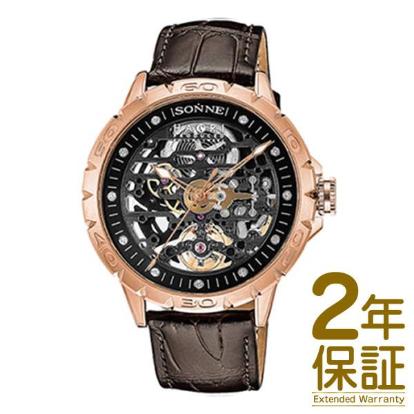 【国内正規品】SONNE ゾンネ 腕時計 H023PG-BW メンズ SONNE×HAORI Produced KOICHI IWAKI ゾンネ×ハオリ 岩城滉一 コラボモデル 自動巻き
