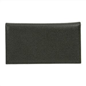 BVLGARI ブルガリ 60サイズ 25752GRAIN-BLK 長財布