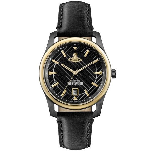 【並行輸入品】Vivienne Westwood ヴィヴィアンウエストウッド 腕時計 VV185BKBK メンズ クオーツ