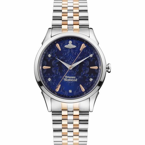 【並行輸入品】Vivienne Westwood ヴィヴィアンウエストウッド 腕時計 VV208DBLSR レディース THE WALLACE ウォレス