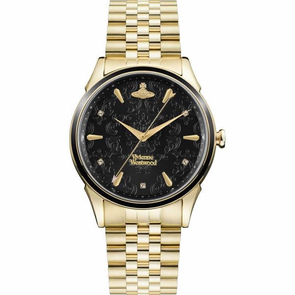 【並行輸入品】Vivienne Westwood ヴィヴィアンウエストウッド 腕時計 VV208GBGD レディース THE WALLACE ウォレス