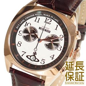 【並行輸入品】ヴィヴィアンウエストウッド Vivienne Westwood 腕時計 VV176WHBR メンズ クロノグラフ