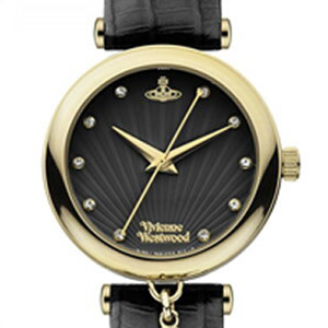 【並行輸入品】Vivienne Westwood ヴィヴィアンウエストウッド 腕時計 VV108BKBK レディース Trafalgar トラファルガー クオーツ
