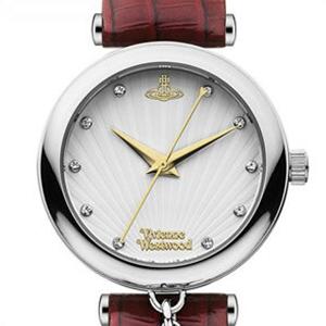 【並行輸入品】ヴィヴィアンウエストウッド Vivienne Westwood 腕時計 VV108WHRD レディース Trafalgar トラファルガー クオーツ