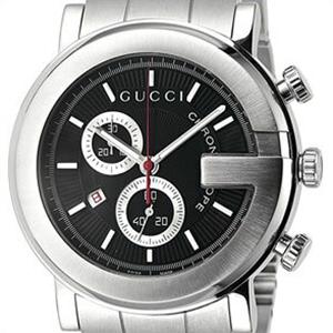 【並行輸入品】GUCCI グッチ 腕時計 YA101309 メンズ Gラウンド クロノグラフ クオーツ