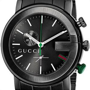 【並行輸入品】グッチ GUCCI 腕時計 YA101331 メンズ Gラウンド クロノグラフ クオーツ