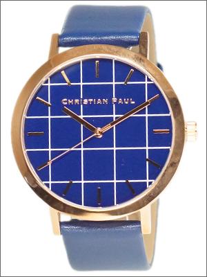 【並行輸入品】クリスチャンポール CHRISTIAN PAUL 腕時計 GR-07 ユニセックス Balmoral Special Edition Grid Collection グリッドコレクション