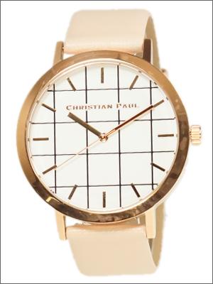 【並行輸入品】クリスチャンポール CHRISTIAN PAUL 腕時計 GR-08 ユニセックス Bondi ボンディ Grid Collection グリッドコレクション