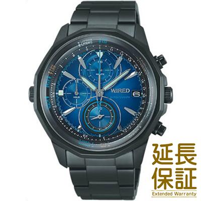 【国内正規品】WIRED ワイアード 腕時計 SEIKO セイコー AGAW421 メンズ THE BULE ザ・ブルー SKY スカイ クロノグラフ