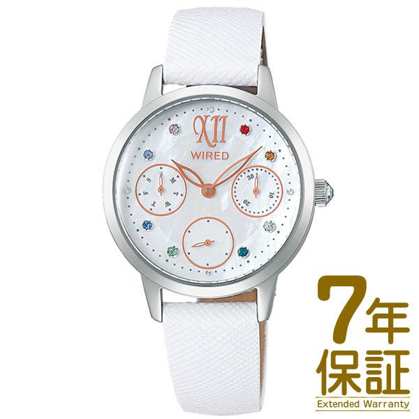【国内正規品】WIRED f ワイアードエフ 腕時計 AGET720 レディース 2019 サマー限定モデル(500本限定) クオーツ