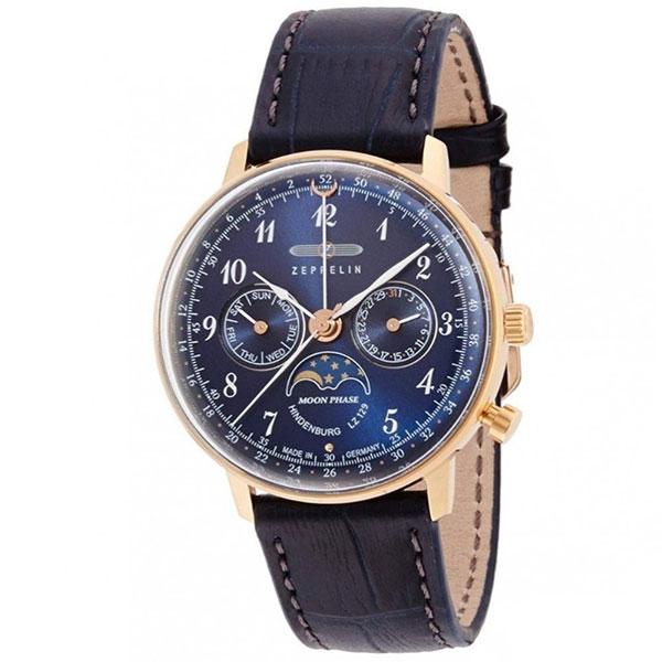 【並行輸入品】ZEPPELIN ツェッペリン 腕時計 7039-3 メンズ Hindenburg ヒンデンブルク クオーツ