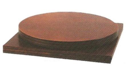 【茶道具】 灰形練習用 回転台  *風炉の灰型作り