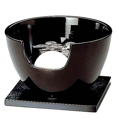 【茶道具セット】 ヤマキ 黒 紅鉢 遠赤外線 【YU-408-001-C,002-C】 *切替スイッチ*電熱*炭型*炭形ヒーター*瓶掛*電気炭*