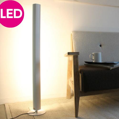 フロアライト LED Tramont LED トラモント LF4466SV LF4466WH1灯 シルバー ホワイト 床 照明 ディクラッセ NOBLE 間接照明 6畳 8畳 12畳 縦置き 横置き オレンジ 昼白色 電球色 おしゃれ かわいい モダン カフェ 北欧