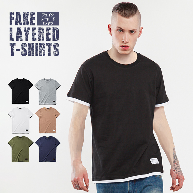 9a611c9e The appearance of the layered T-shirt which it is simple and is easy to  use! It is digested in a fake sleeve appearing for an instant from a  sleeve, ...