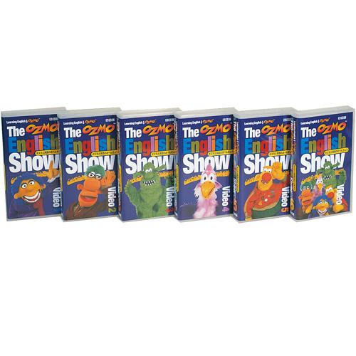 自然な形で使える英語が身につく あす楽 BBCオズモと英語のおべんきょう5 ビデオ 知育教材 人気ブランド VHS 賜物