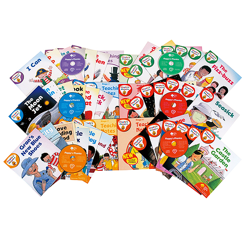 【あす楽】ORT フロッピーズフォニックスセット【幼児・子供向け英語教材】【キッズ】【知育教材】【英会話】【CD】【セット教材】