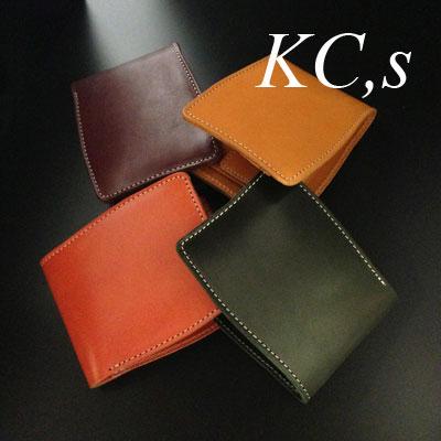 KC,s ケイシイズ ベーシック ブォーノアニリン ビルフォード 財布 ウォレット 4カラー 日本製 革財布 ケイシーズ【送料無料】