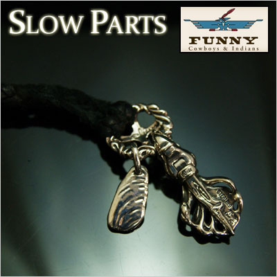 FUNNY/ファニー≪スロー ハート・フェザーネックレス/SLOW HEART FEATHER NECKLACE≫スターリングシルバー/Silver【925】【送料無料】
