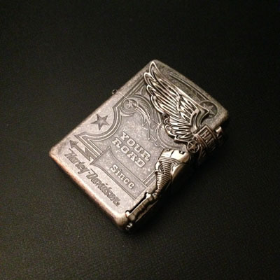 NEW model / stock /ZIPPO Harley-Davidson HDP-28 / Harley Davidson / Zippo /  Zippo / birthday / gift / motorcycle / biker / wrapping