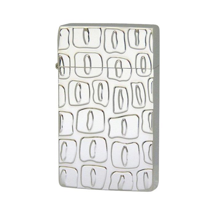最新の激安 SAROME Silver サロメ ジェットフレームライター≪SRM EXCEL Crocodile Silver Engrave Silver Silver 50μ Engrave Plate SRM ライター スパイラルサーキュラーフレイム クロコダイルパターン シルバー 50ミクロン プレート≫ガスライター【送料無料】, WAOショップ:76a6abef --- canoncity.azurewebsites.net