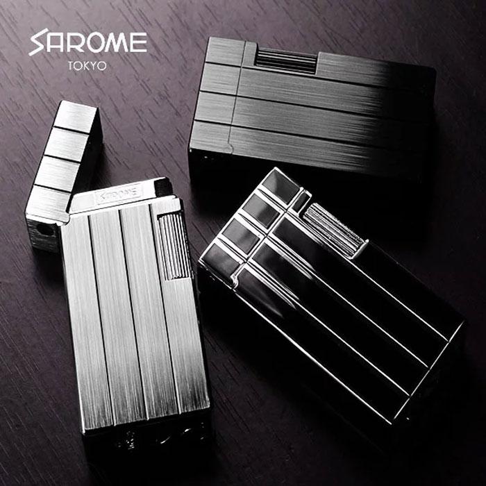 【正規取扱店】SAROME / サロメ SD1 シリーズ ライター 伝統的なフリントガスライター 【CHAOS Lighter Bar】 ラッピング 【メール便不可】 【smtb-m】 【レザーワークス カオス】