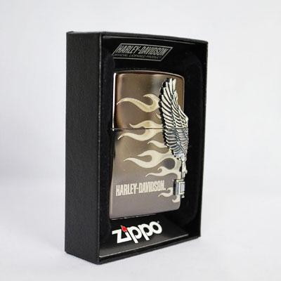 【再入荷!!】【送料無料】 即納 ZIPPO ライター ハーレー ダビッドソン サイドメタル ブラックシルバー ジッポー HDP-02 HARLEY-DAVIDSON [ ジッポ ][ ジッポー ] 誕生日 ラッピング 【smtb-m】