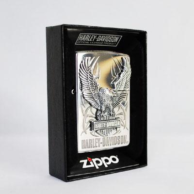 【再入荷!!】ZIPPO ジッポ/ジッポー ライター ハーレーダビッドソン【送料無料】 シルバーイーグルメタル HDP-07 HARLEY-DAVIDSON