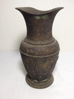 ●【銅製 水差し】アンティーク インド 骨董