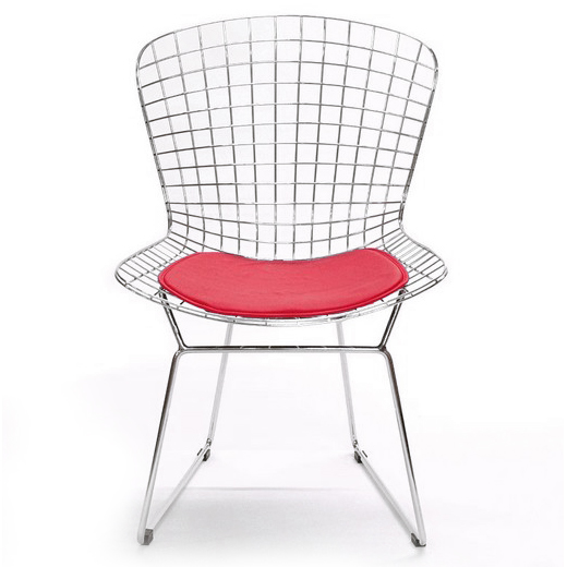 Harry Berti You Wire Chair Red