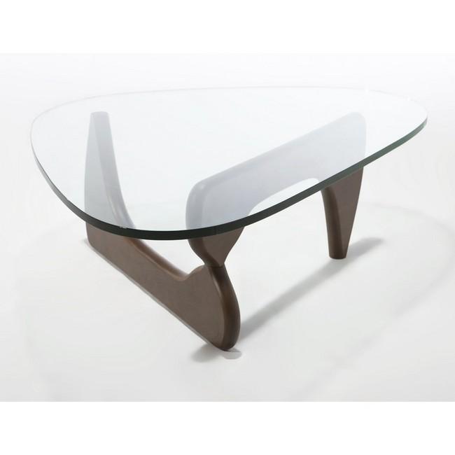 ノグチテーブル ウォールナット イサム・ノグチ おしゃれ かわいい デザイナー イサムノグチ イサム ノグチ ガラステーブル センターテーブル コーヒーテーブル ガラス テーブル リプロダクト