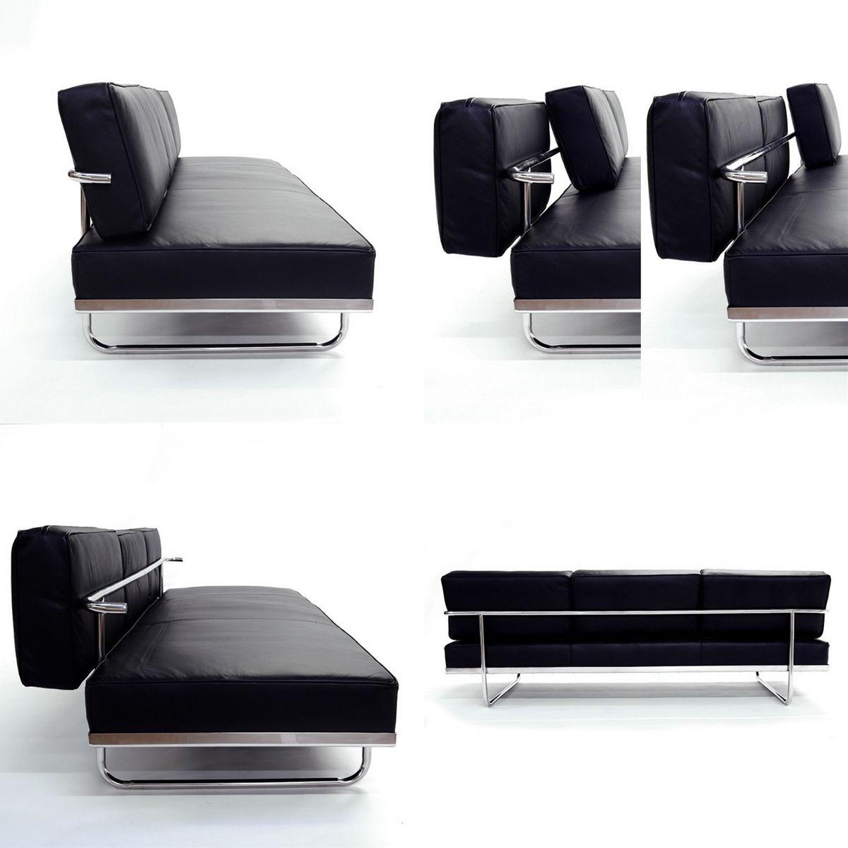 le corbusier sofa bed le corbusier style lc5 sofa in