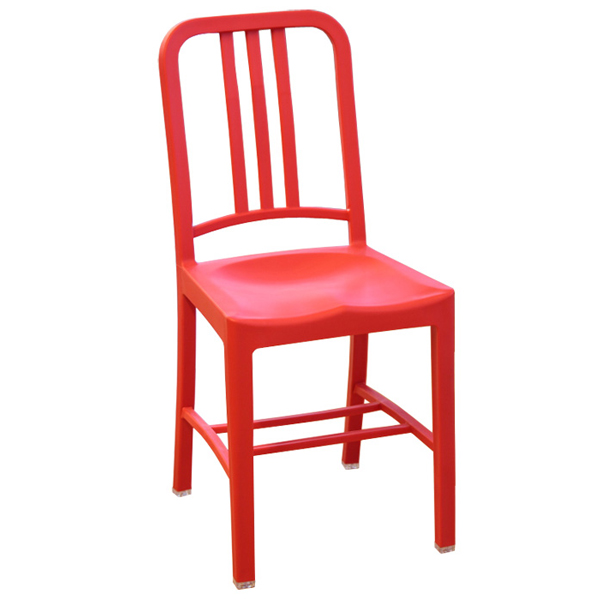 Navy Chair red NAVY CHAIR Chair Chair PP polypropylene