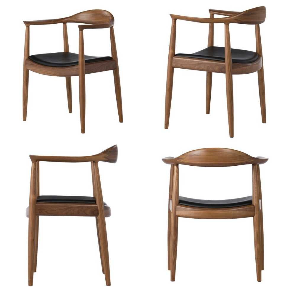 chaoscollection hans j wegner the chair walnut walnut. Black Bedroom Furniture Sets. Home Design Ideas