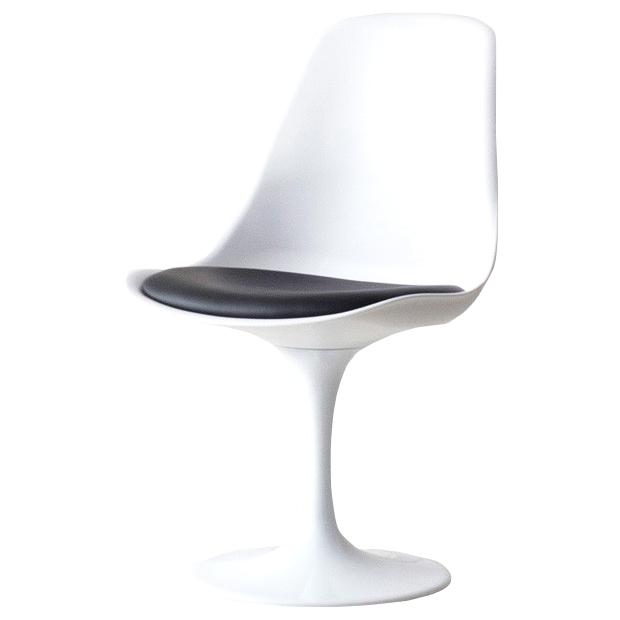 チューリップチェア エーロ・サーリネン ブラック エーロサーリネン PVC ウレタンフォーム チェア 椅子 ABS