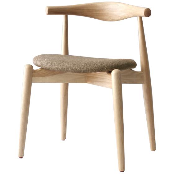 ハンス・j・ウェグナー ハンス・ウェグナー エルボチェア エルボーチェア ラウンド ファブリック ナチュラル おしゃれ かわいい 北欧 デザイナー ノルディック チェア 椅子 木製 リプロダクト デザイナーズチェア チェアー