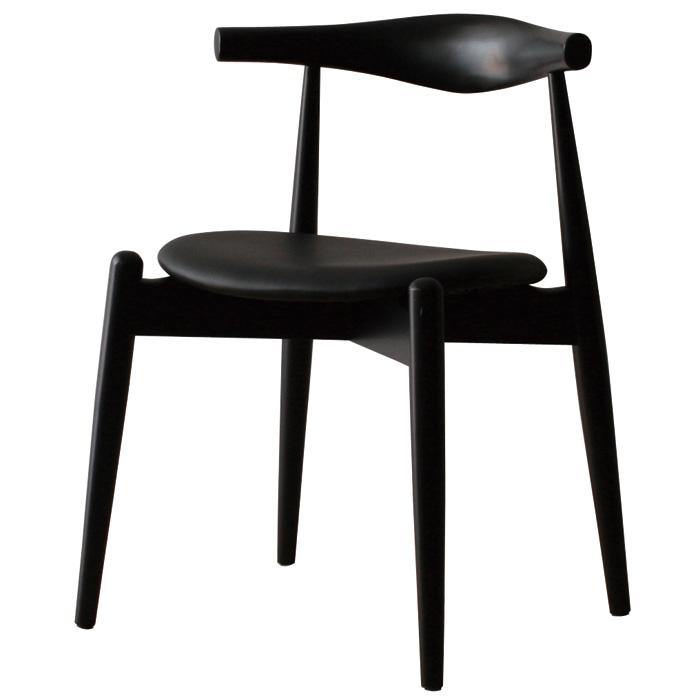 ハンス・j・ウェグナー ハンス ウェグナー エルボチェア エルボーチェア ラウンド ブラック おしゃれ かわいい 北欧 デザイナー ノルディック チェア 椅子 木製 リプロダクト デザイナーズチェア チェアー