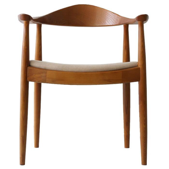 ハンス・ウェグナー ザチェア ザ・チェア ファブリック シート ブラウン ハンス・j・ウェグナー thechair おしゃれ かわいい 北欧 デザイナー ノルディック チェア 椅子 木製 リプロダクト